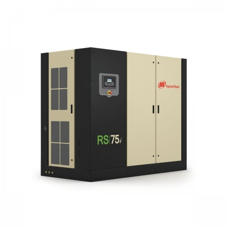 rs75 rotary screw oil flooded compressor hero